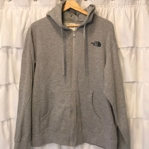 The north face full zip up